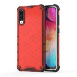 Funda Tipo Honeycomb Armor (Pc+Tpu) Roja para Samsung Galaxy A50 / A50s / A30s