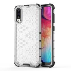 Funda Tipo Honeycomb Armor (Pc+Tpu) Transparente para Samsung Galaxy A50 / A50s / A30s
