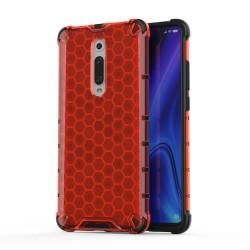 Funda Tipo Honeycomb Armor (Pc+Tpu) Roja para Xiaomi Mi 9T / Mi 9T Pro