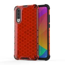 Funda Tipo Honeycomb Armor (Pc+Tpu) Roja para Xiaomi Mi A3