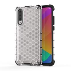 Funda Tipo Honeycomb Armor (Pc+Tpu) Transparente para Xiaomi Mi A3