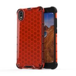 Funda Tipo Honeycomb Armor (Pc+Tpu) Roja para Xiaomi Redmi 7A