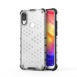 Funda Tipo Honeycomb Armor (Pc+Tpu) Transparente para Xiaomi Redmi Note 7