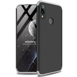 Funda Carcasa GKK 360 para Xiaomi Redmi 7 Color Negra / Plata