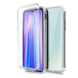 Funda Completa Transparente Pc + Tpu Full Body 360 para Xiaomi Redmi Note 8