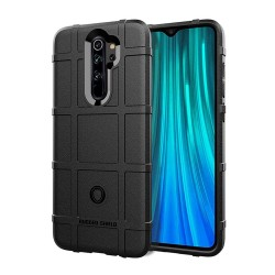 Funda Armor Rugged Shield Antigolpes para Xiaomi Redmi Note 8 Pro color Negra
