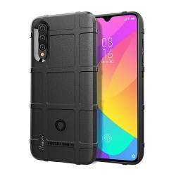 Funda Armor Rugged Shield Antigolpes para Xiaomi Mi 9 Lite color Negra