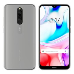 Funda Gel Tpu para Xiaomi Redmi 8 Color Transparente