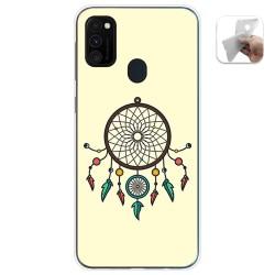 Funda Gel Tpu para Samsung Galaxy M30s / M21 diseño Atrapasueños Dibujos