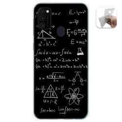 Funda Gel Tpu para Samsung Galaxy M30s / M21 diseño Formulas Dibujos