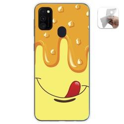 Funda Gel Tpu para Samsung Galaxy M30s / M21 diseño Helado Vainilla Dibujos