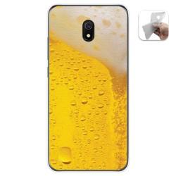 Funda Gel Tpu para Xiaomi Redmi 8A diseño Cerveza Dibujos