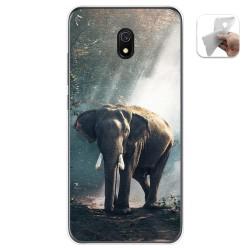 Funda Gel Tpu para Xiaomi Redmi 8A diseño Elefante Dibujos