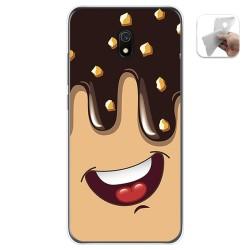 Funda Gel Tpu para Xiaomi Redmi 8A diseño Helado Chocolate Dibujos