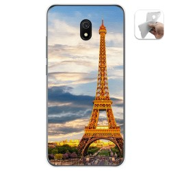 Funda Gel Tpu para Xiaomi Redmi 8A diseño Paris Dibujos