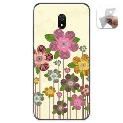 Funda Gel Tpu para Xiaomi Redmi 8A diseño Primavera En Flor Dibujos