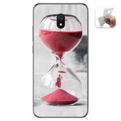 Funda Gel Tpu para Xiaomi Redmi 8A diseño Reloj Dibujos