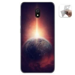 Funda Gel Tpu para Xiaomi Redmi 8A diseño Tierra Dibujos