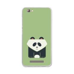 Funda Gel Tpu para Zte Blade A610 / A612  Diseño Panda Dibujos