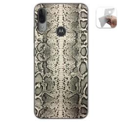 Funda Gel Tpu para Motorola Moto E6 Plus diseño Animal 01 Dibujos