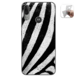 Funda Gel Tpu para Motorola Moto E6 Plus diseño Animal 02 Dibujos