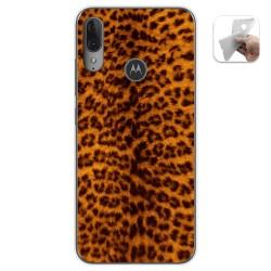 Funda Gel Tpu para Motorola Moto E6 Plus diseño Animal 03 Dibujos