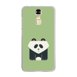 Funda Gel Tpu para Zte Blade A610 Plus Diseño Panda Dibujos