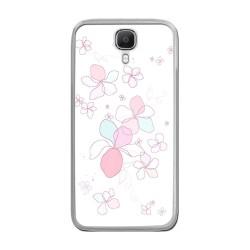 Funda Gel Tpu para Doogee X9 / X9 Pro Diseño Flores Minimal Dibujos