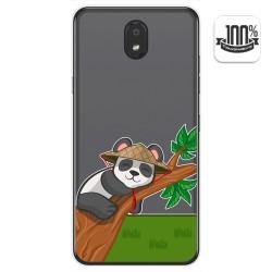 Funda Gel Transparente para Lg K30 diseño Panda Dibujos