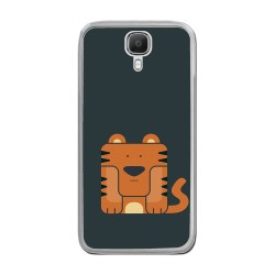 Funda Gel Tpu para Doogee X9 / X9 Pro  Diseño Tigre Dibujos