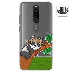 Funda Gel Transparente para Xiaomi Redmi 8 diseño Panda Dibujos
