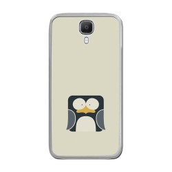 Funda Gel Tpu para Doogee X9 / X9 Pro  Diseño Pingüino Dibujos