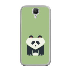 Funda Gel Tpu para Doogee X9 / X9 Pro  Diseño Panda Dibujos