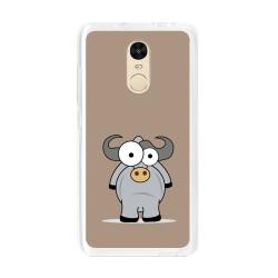 Funda Gel Tpu para Xiaomi Xiaomi Redmi Note 4 / Note 4 Pro Diseño Toro Dibujos