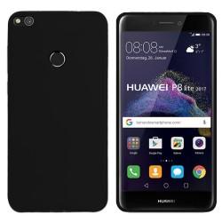 Funda Gel Tpu para Huawei P8 Lite 2017 Color Negra