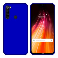 Funda Gel Tpu para Xiaomi Redmi Note 8 Color Azul