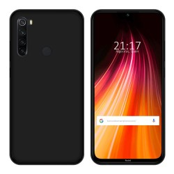 Funda Gel Tpu para Xiaomi Redmi Note 8 Color Negra
