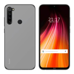 Funda Gel Tpu para Xiaomi Redmi Note 8 Color Transparente