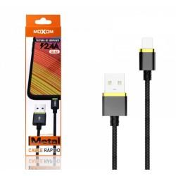 Cable de Carga Rápida con Conector USB Tipo C 2,4A Marca Moxom