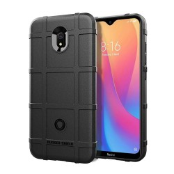 Funda Armor Rugged Shield Antigolpes para Xiaomi Redmi 8A color Negra
