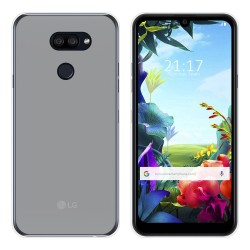 Funda Gel Tpu para Lg K40S Color Transparente