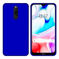 Funda Gel Tpu para Xiaomi Redmi 8 Color Azul