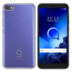 Funda Gel Tpu Fina Ultra-Thin 0,5mm Transparente para Alcatel 1V 2019