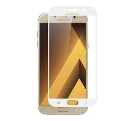 Protector Cristal Templado Frontal Completo Blanco para Samsung Galaxy A5 (2017) Vidrio