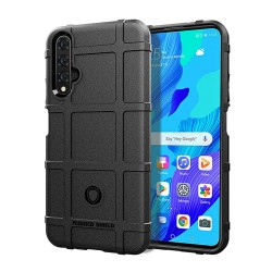 Funda Armor Rugged Shield Antigolpes para Huawei Nova 5T / Honor 20 color Negra