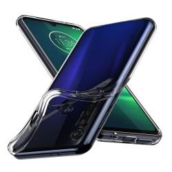 Funda Gel Tpu Fina Ultra-Thin 0,5mm Transparente para Motorola Moto G8 Plus