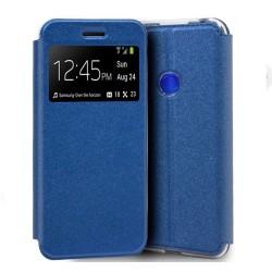 Funda Libro Soporte con Ventana para Huawei P Smart Z Color Azul