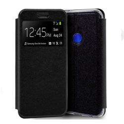 Funda Libro Soporte con Ventana para Huawei P Smart Z Color Negra