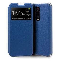 Funda Libro Soporte con Ventana para Xiaomi Mi 9T / Mi 9T Pro Color Azul