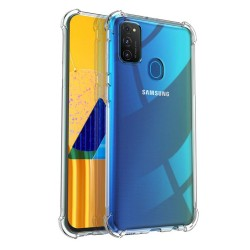 Funda Gel Tpu Anti-Shock Transparente para Samsung Galaxy M30s / M21